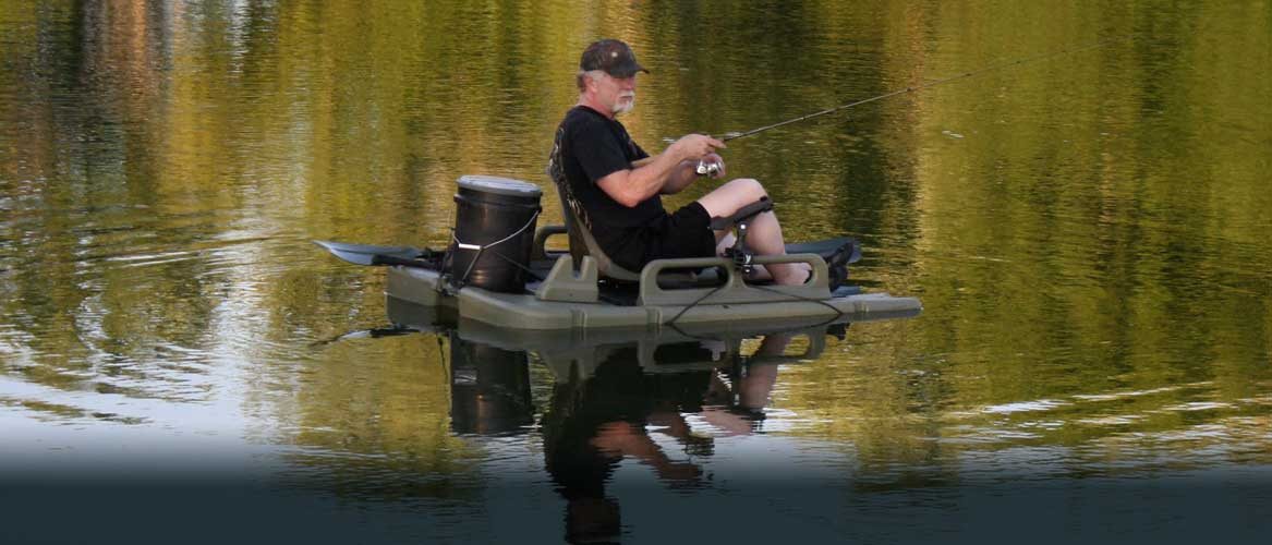 Mudbob water walkers home for Personal fishing boat
