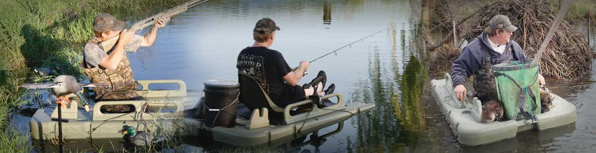 Water Walker used outdoors for hunting, fishing and trapping